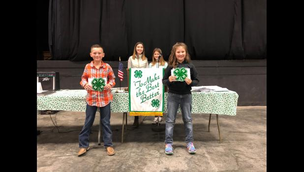 4-H Rookie Boy and Girl - Ledger Grooms, Hamilton Achievers and Jaecy Heisey, Polo Trailblazers