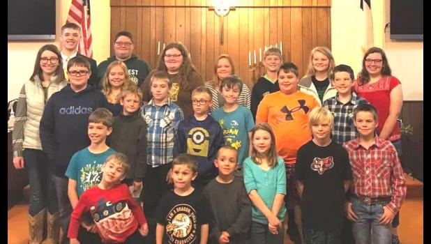 The Caldwell County FFA Group